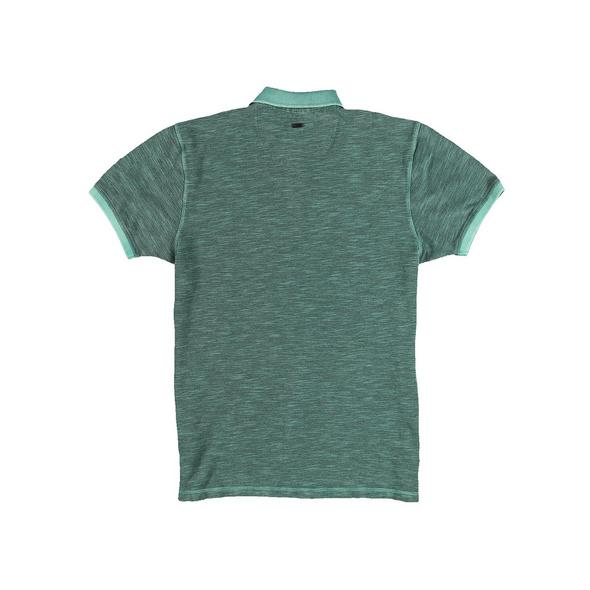 Poloshirt gemustert