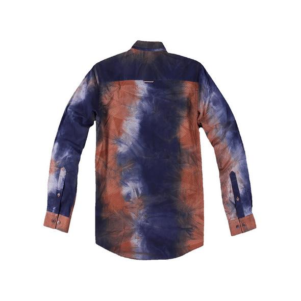 Individuell gefärbtes Langarmhemd