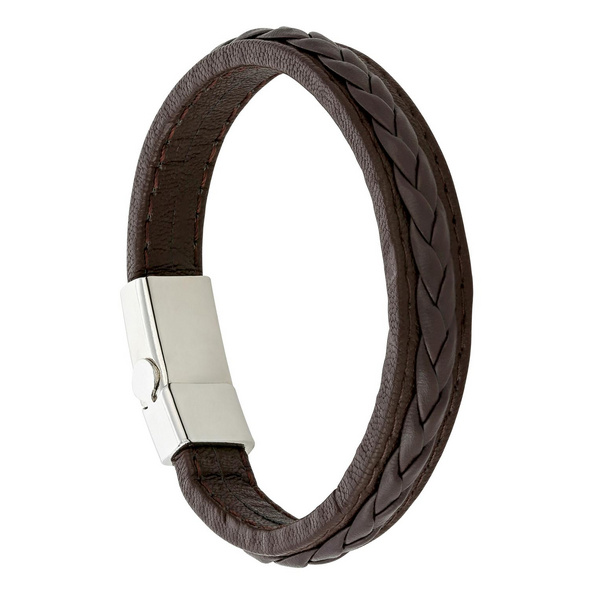 Armband - Braided Brown