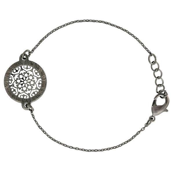 Armband - Hematite Circle