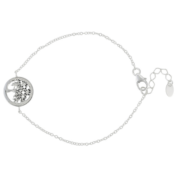 Armband - Fine Tree In A Cirlce