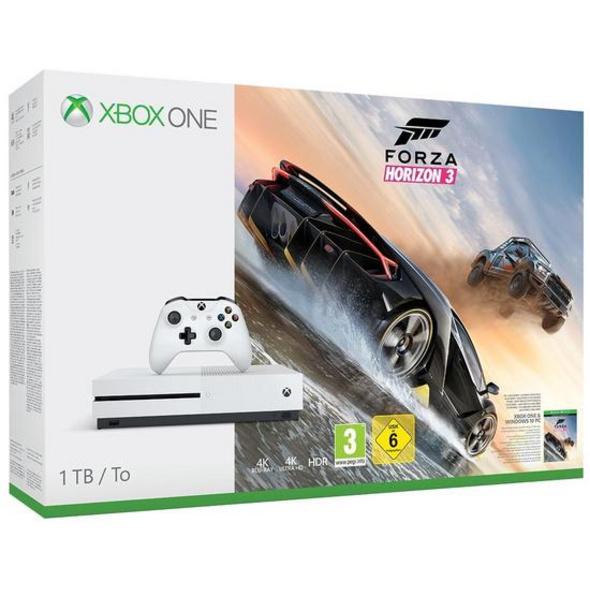 Microsoft Xbox One S Konsole 1TB inkl. Forza Horizon 3