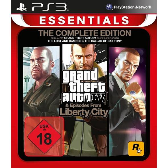 Grand Theft Auto 4 Complete Edition Essentials