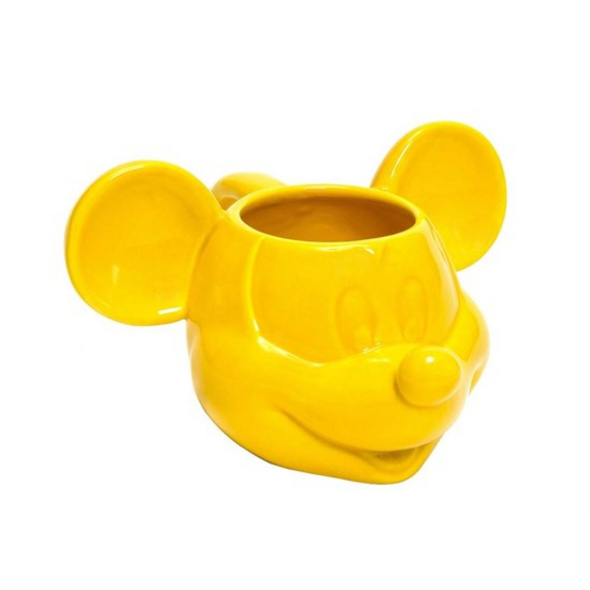 Mickey Mouse - Tasse 3D gelb