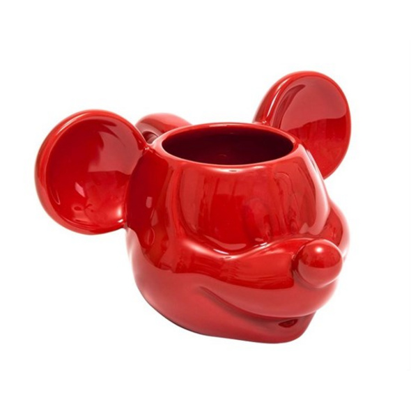 Mickey Mouse - Tasse 3D rot