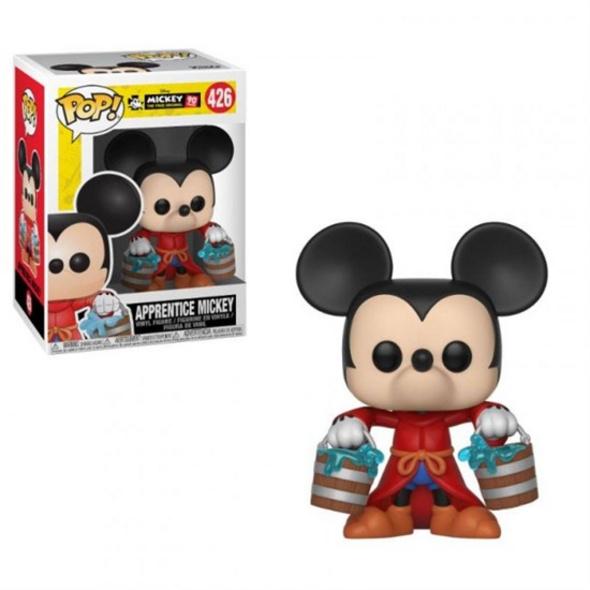 Disney: Micky Maus - POP!-Vinyl Figur Lehrling Micky (90ter Jahrestag)