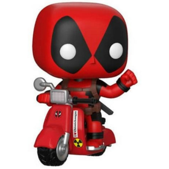 Deadpool - POP!-Vinyl Figur Deadpool auf einen Scooter