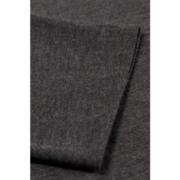 Shirt, Rundhalsausschnitt, Slim, Langarm