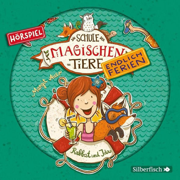 Die Schule der magischen Tiere - Endlich Ferien - Hörspiele 1: Rabbat und Ida - Das Hörspiel