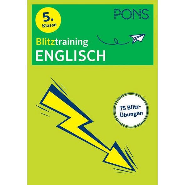 PONS Blitztraining Englisch 5. Klasse