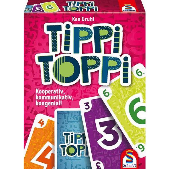 Schmidt 75051 - Tippi Toppi, Familienkartenspiel, Kartenspiel