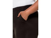 Jerseyhose, elastischer Bund, weites Bein