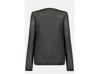 Twinset-Pullover, Metallic-Effekt, 2-in-1-Optik