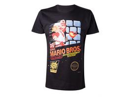 Nintendo - T-Shirt Mario NES Compressed (Größe L)