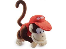 Super Mario - Plüschfigur Diddy Kong