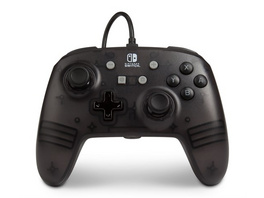 Nintendo Switch PowerA Wired Controller Black Frost