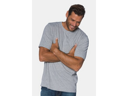 T-Shirt, Rundhals, gekämmte Baumwolle, bis 8XL
