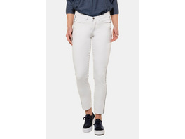 Gina Laura Jeans Julia, Galonstreifen, schmale 5-Pocket-Form