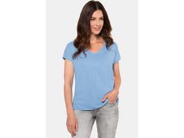 Gina Laura T-Shirt, Oversized, V-Ausschnitt