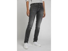 Jeans Julia, Schlangen-Galonstreifen, schmale 5-Pocket