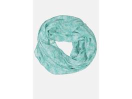 Loop, geblümt, recyceltes Polyester, luftig-leicht