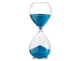 Sanduhr 'Time Out' 5 Minuten, türkis